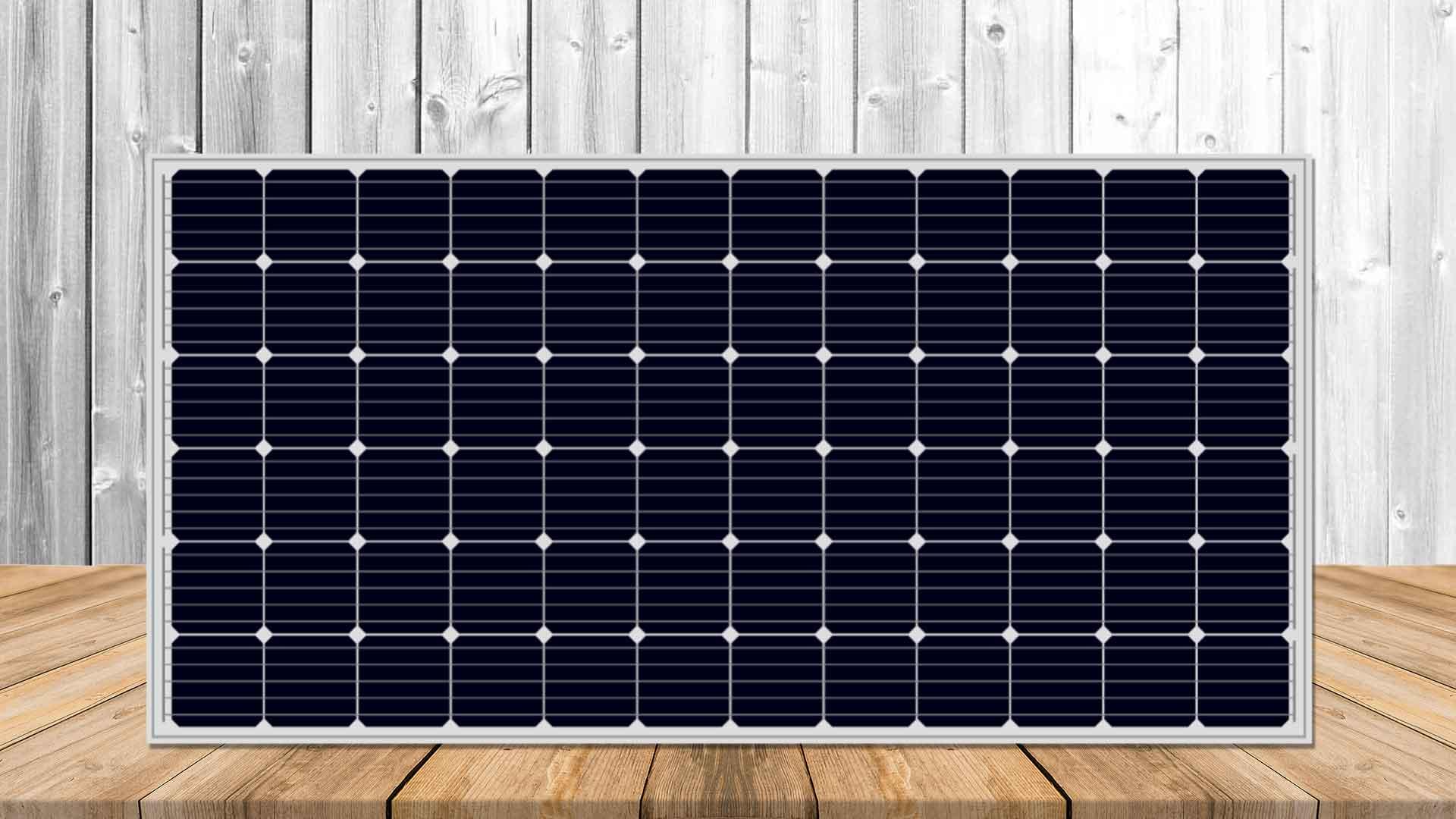 Kit solar autocaravana básico 150w placa
