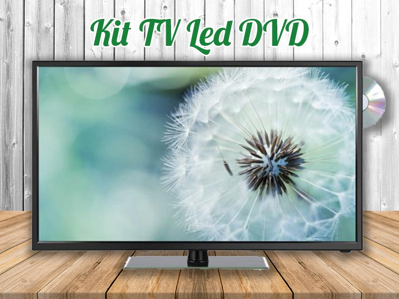 Kit TV LED DVD