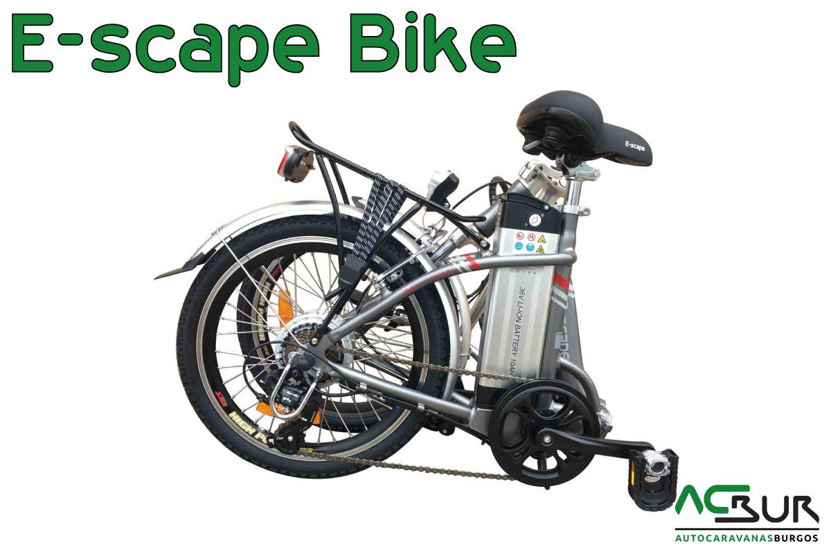 Black Friday Bicicleta eléctrica gris plegada