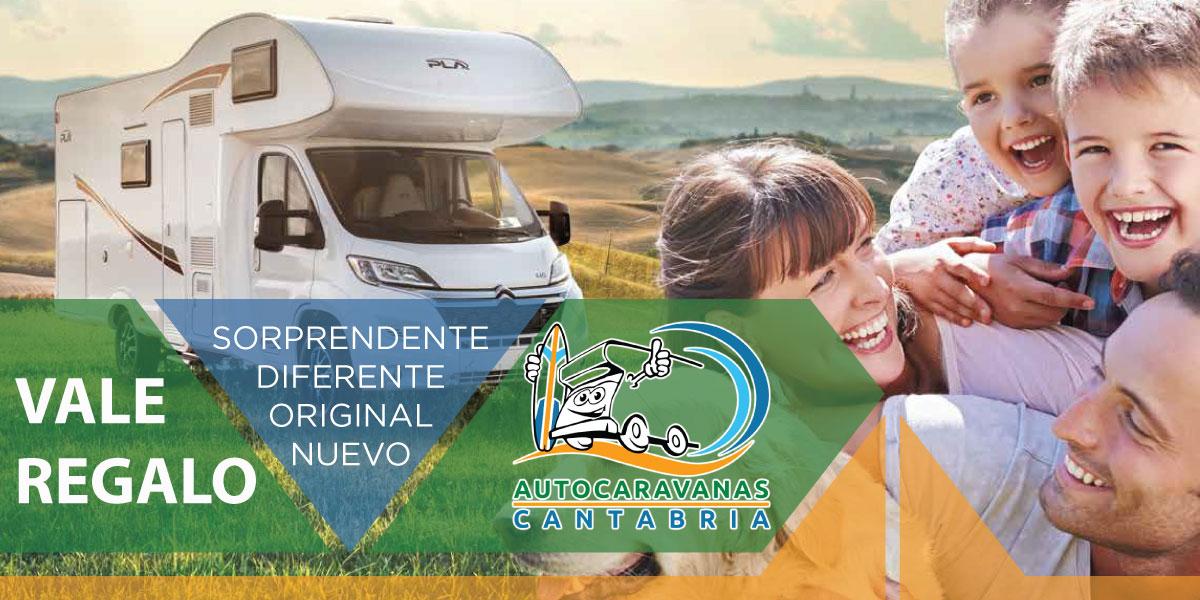 Vale regalo de Autocaravanas Cantabria