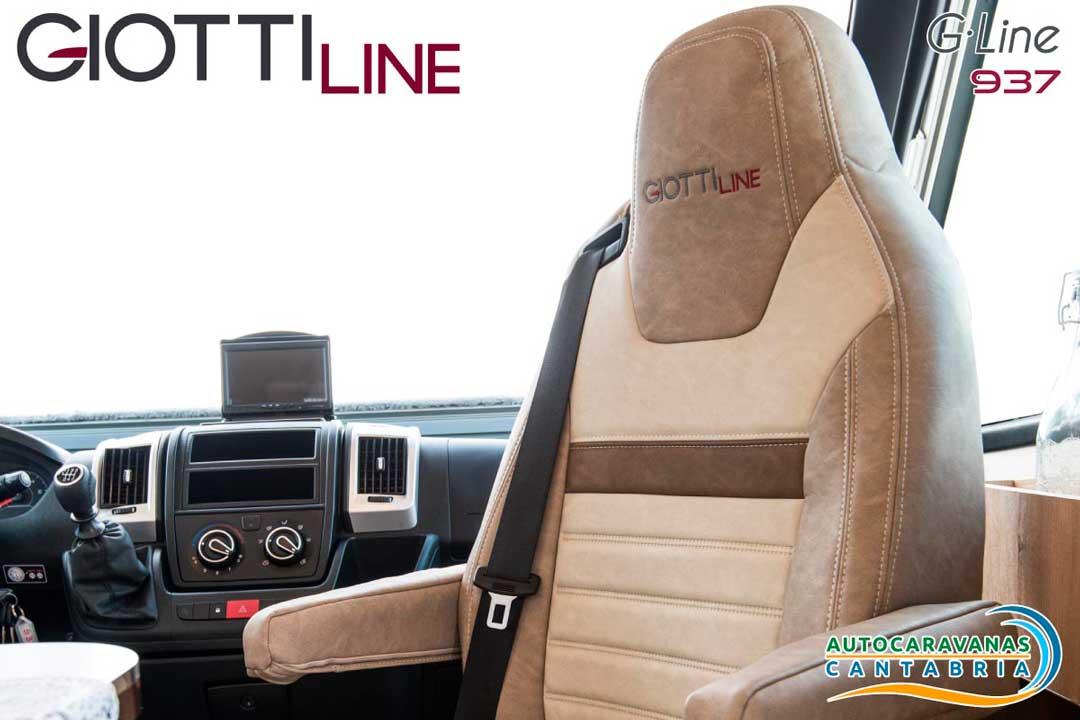 GiottiLine GLine GL937 2020 Silla del Capitán