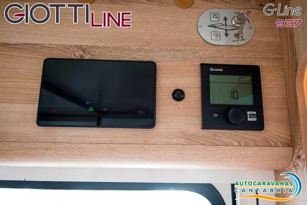 GiottiLine GLine GL937 2020 Panel de control