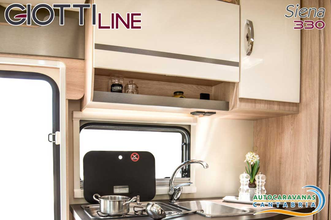 GiottiLine Siena 330 2020 Cocina