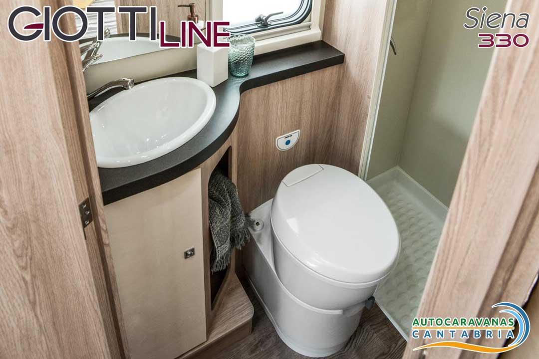 GiottiLine Siena 330 2020 Baño
