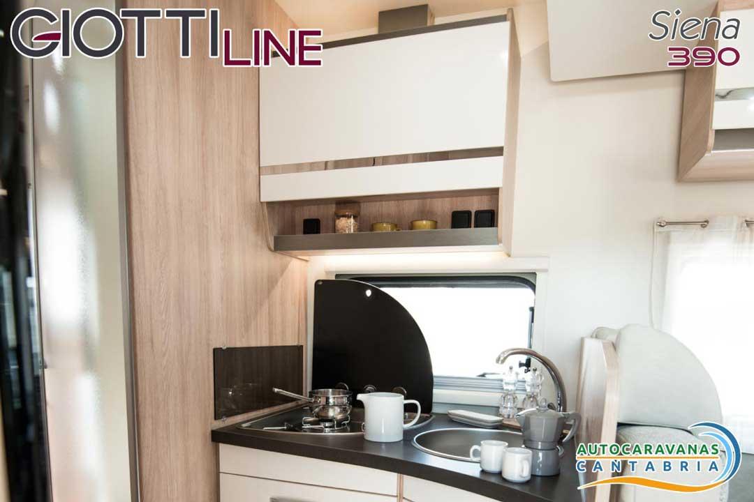 GiottiLine Siena 390 2020 Cocina