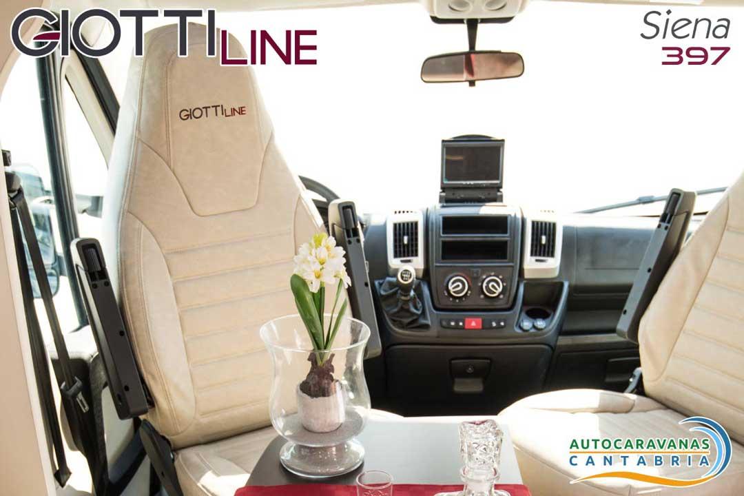 GiottiLine Siena 397 2020 Asientos