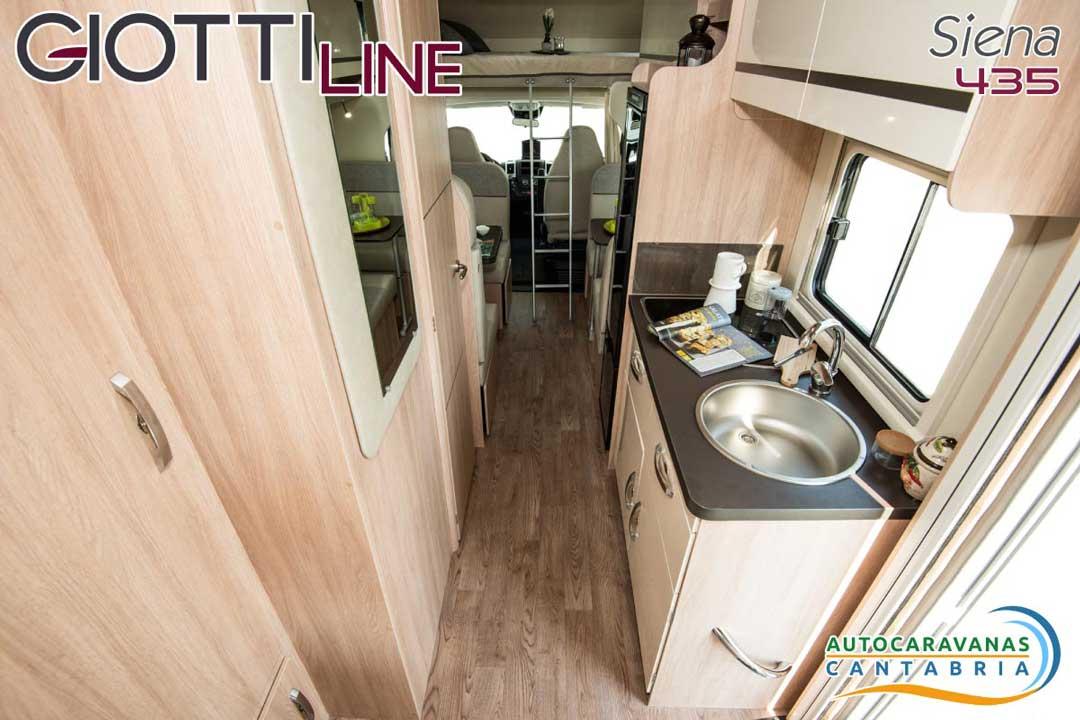 GiottiLine Siena 435 2020 Cocina
