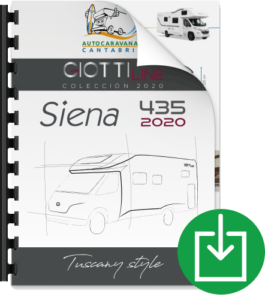 GiottiLine Siena 435 2020 Informe