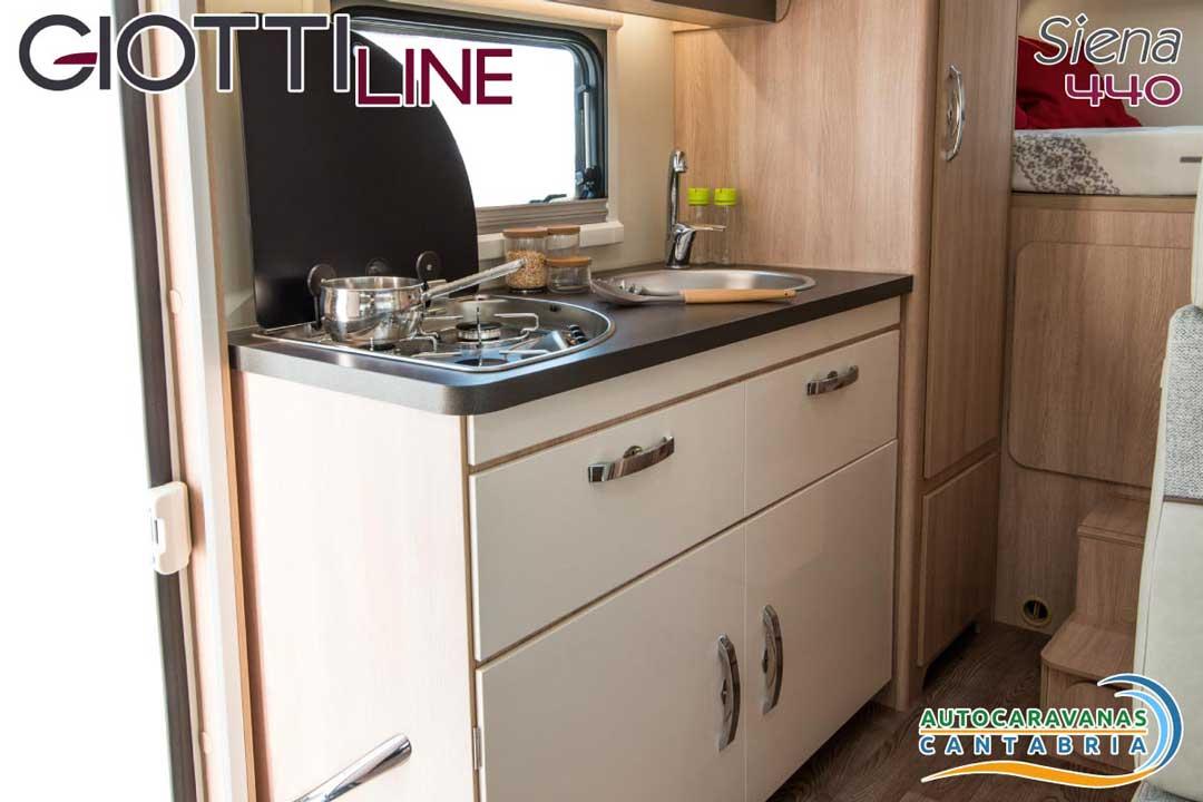 GiottiLine Siena 440 2020 Cocina