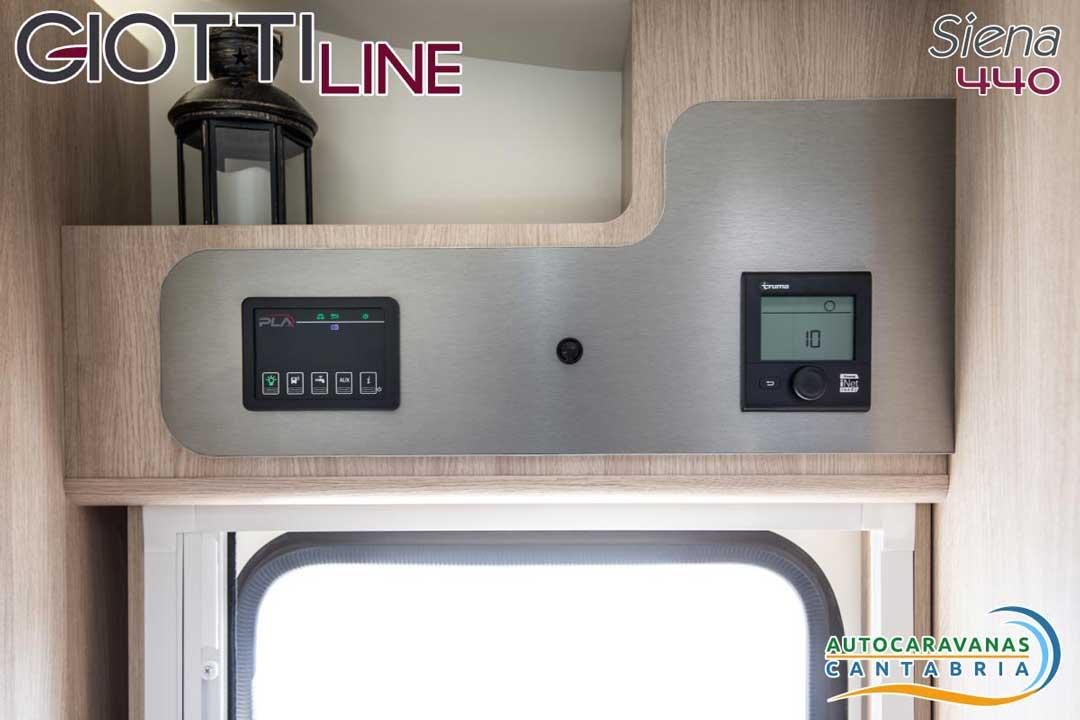 GiottiLine Siena 440 2020 Panel de control