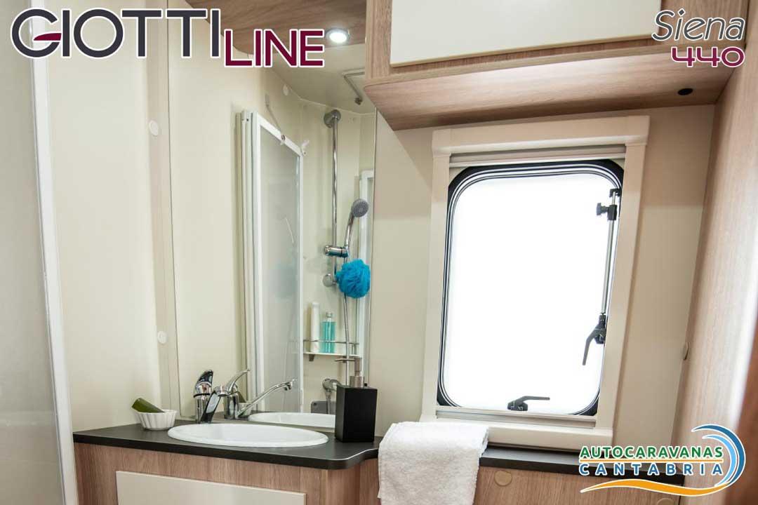 GiottiLine Siena 440 2020 Baño