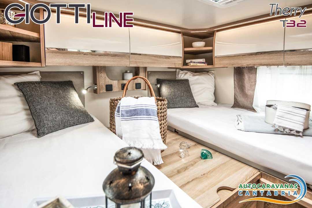 GiottiLine Therry T32 2020 Dormitorio