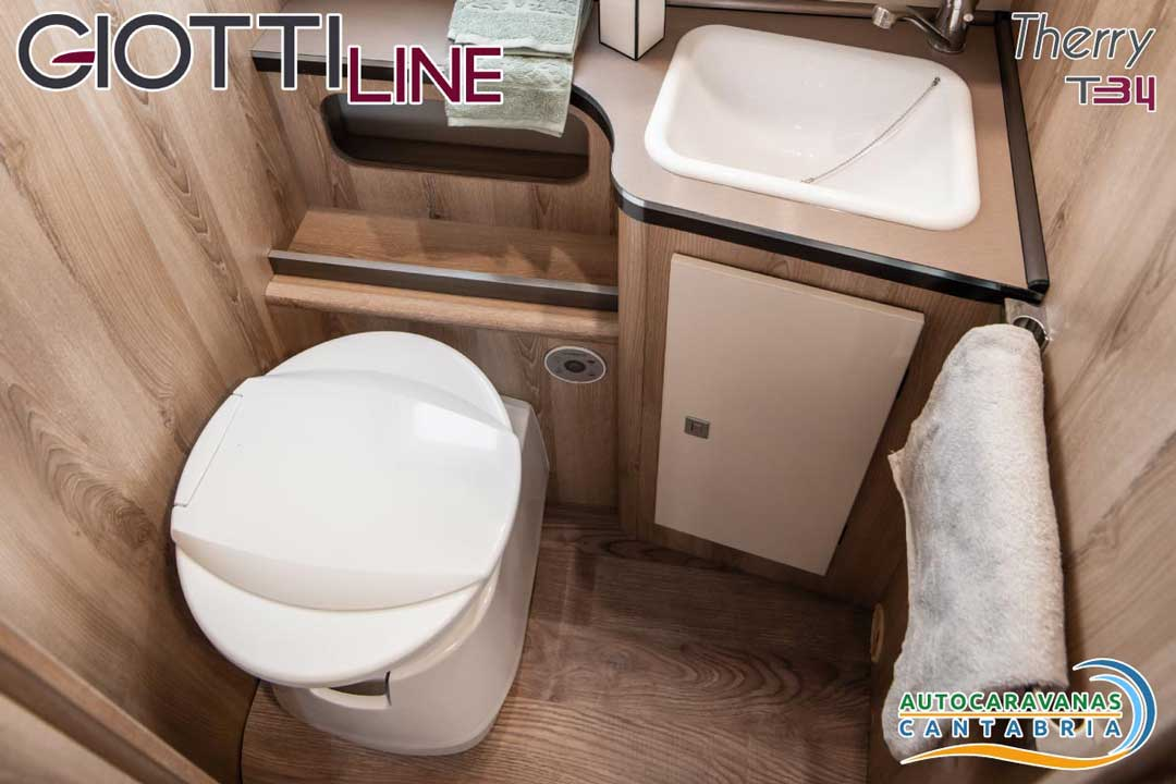 GiottiLine Therry T34 2020 Baño