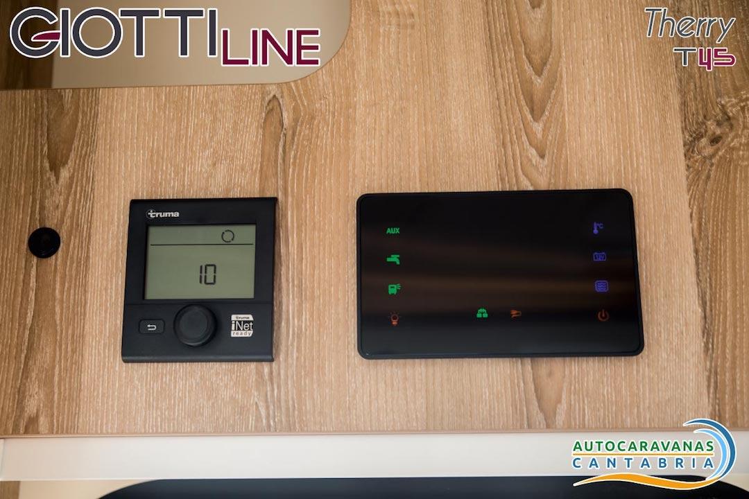 GiottiLine Therry T45 2020 Paneles de control