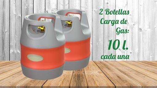 Kit GLP Autocaravana 2 botellas 10 litros