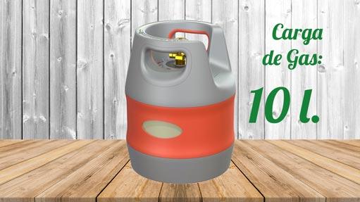 Kit GLP Autocaravana Botella 10 litros