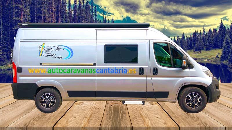 Alquilar Camper en Cantabria 4 plazas rotación 3
