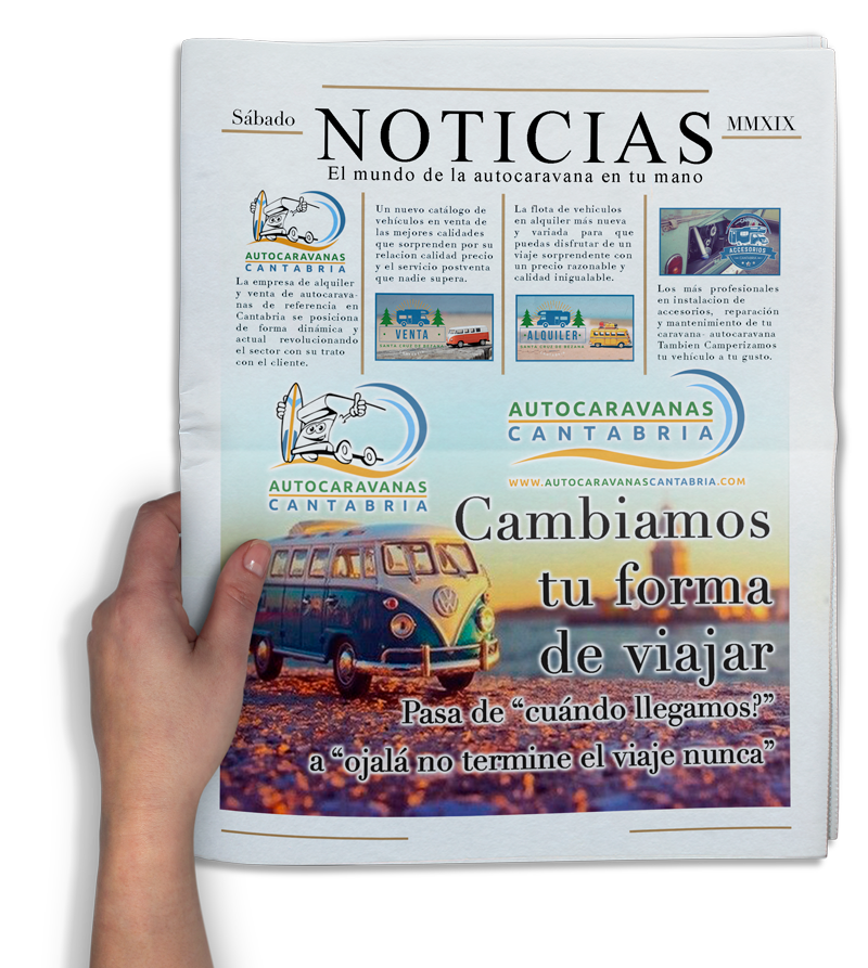 Noticias de Autocaravanas en Cantabria
