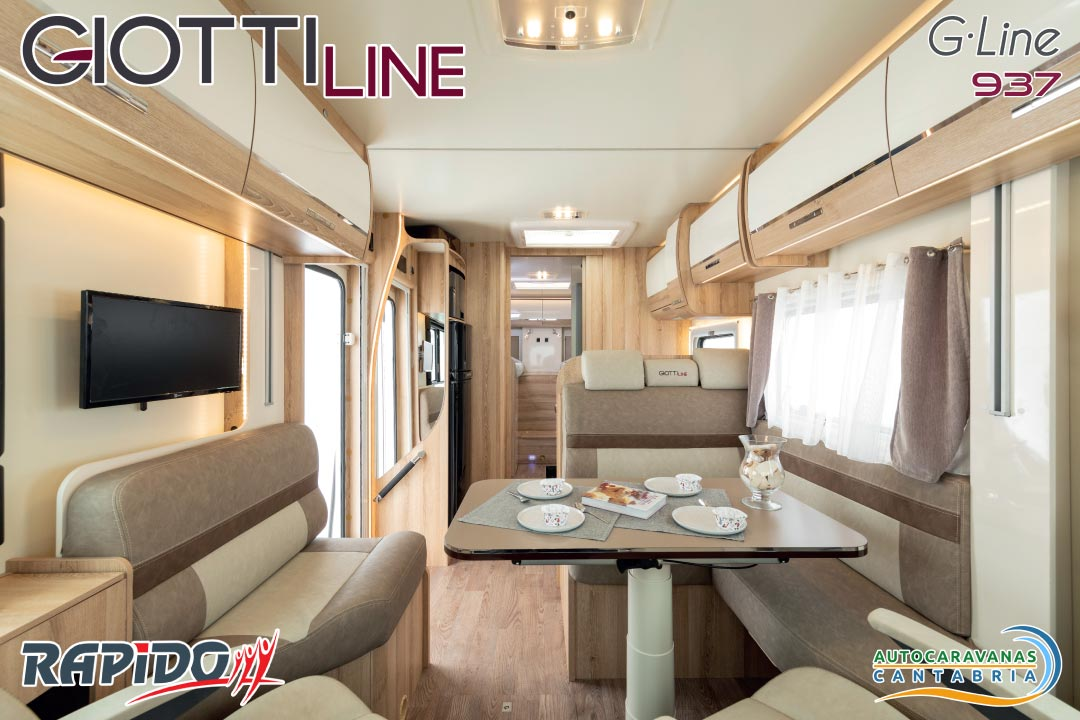 GiottiLine GLine 937 2021 interior
