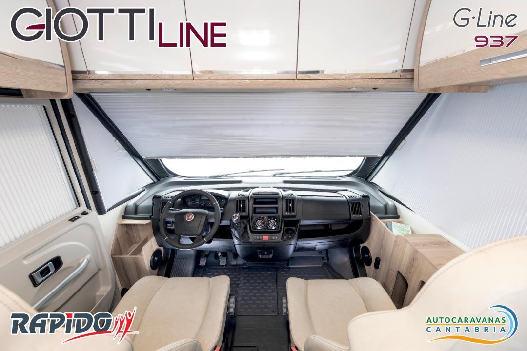 GiottiLine GLine 937 2021 cabina
