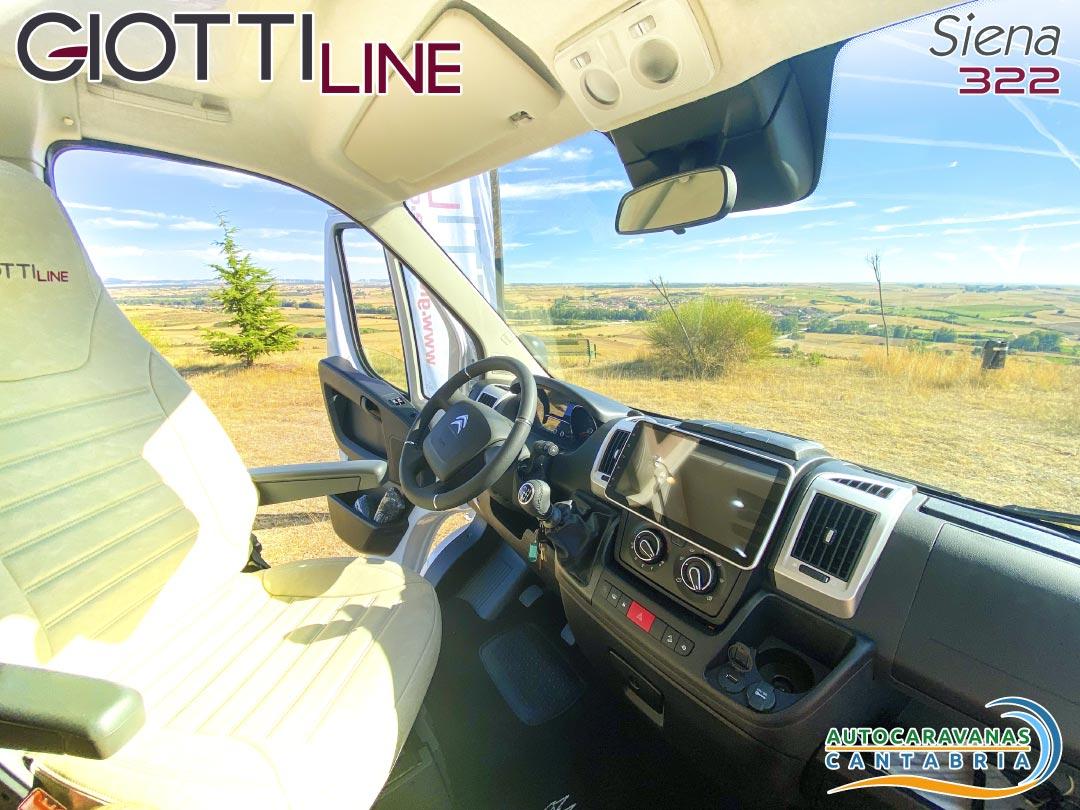 GiottiLine Siena 322 2021 cabina