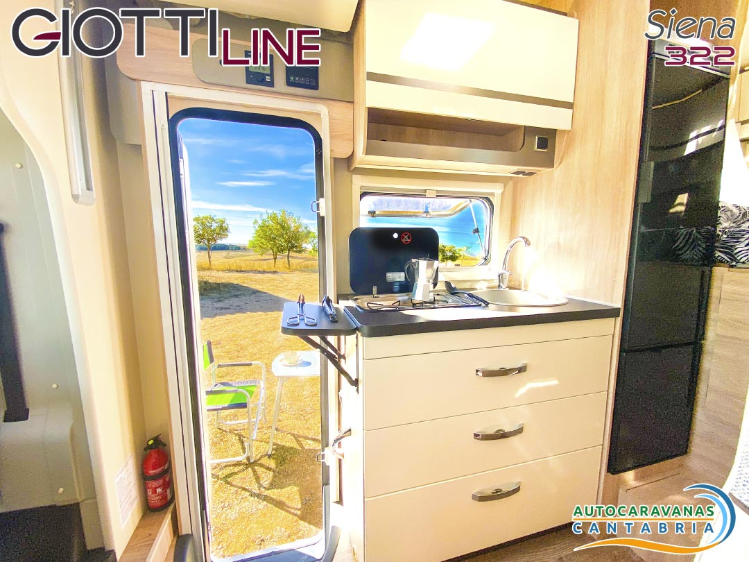 GiottiLine Siena 322 2021 cocina