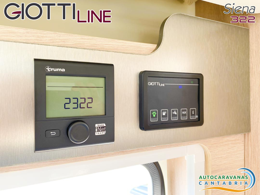 GiottiLine Siena 322 2021 paneles de control