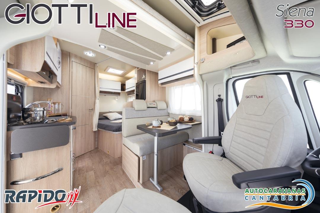 GiottiLine Siena 330 2021 interior