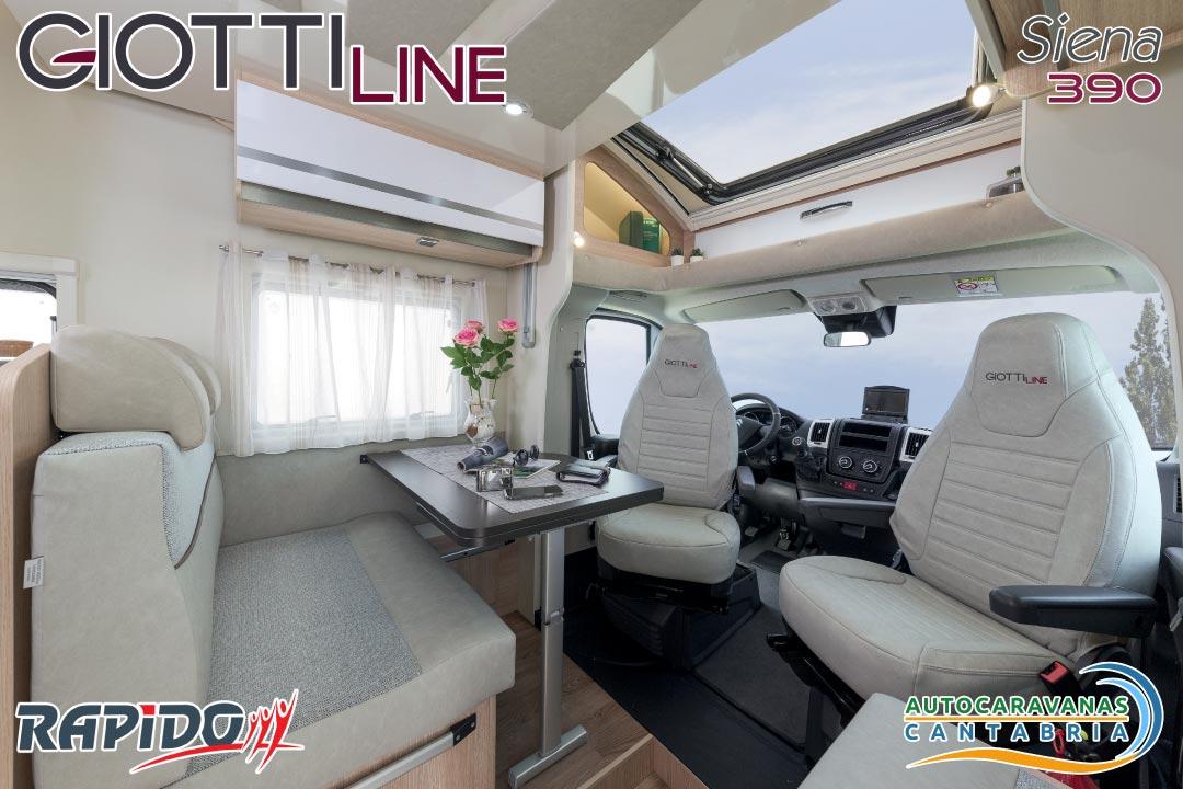 GiottiLine Siena 390 2021 salón