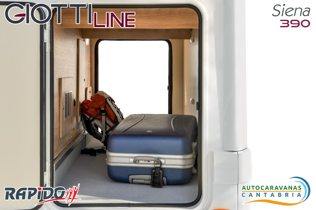 GiottiLine Siena 390 2021 garaje