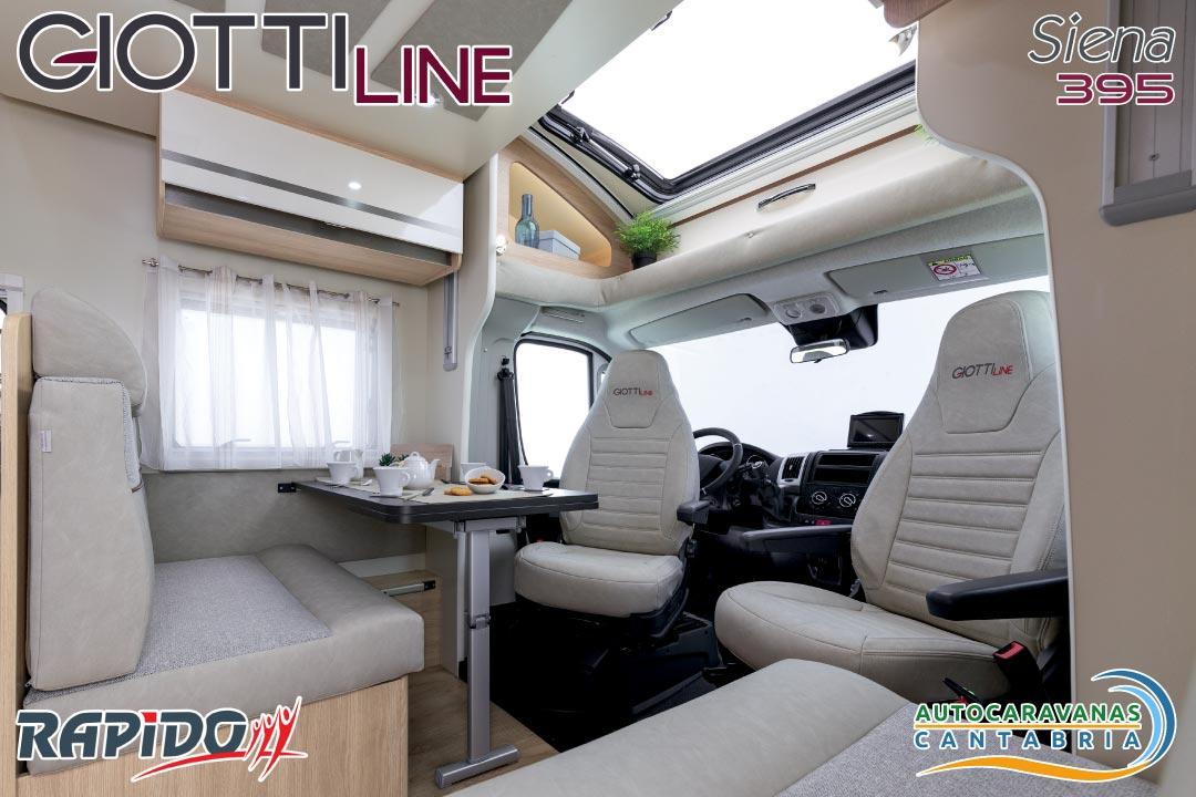 GiottiLine Siena 395 2021 comedor