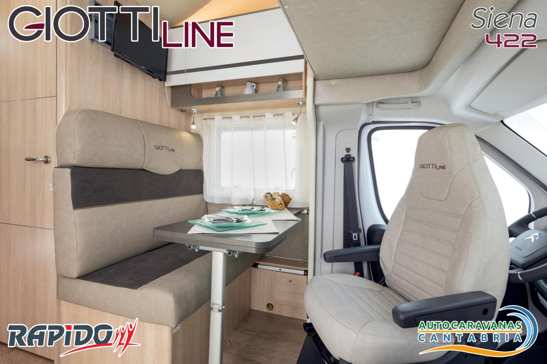 GiottiLine Siena 422 2021 comedor