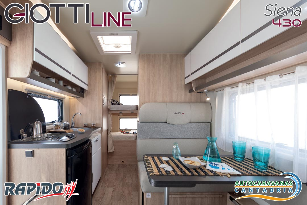 GiottiLine Siena 430 2021 interior