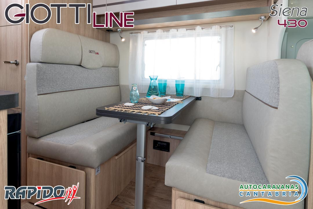 GiottiLine Siena 430 2021 comedor