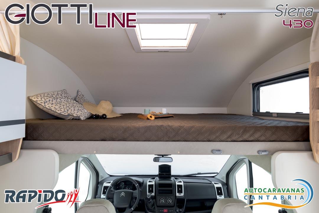 GiottiLine Siena 430 2021 cama capuchina