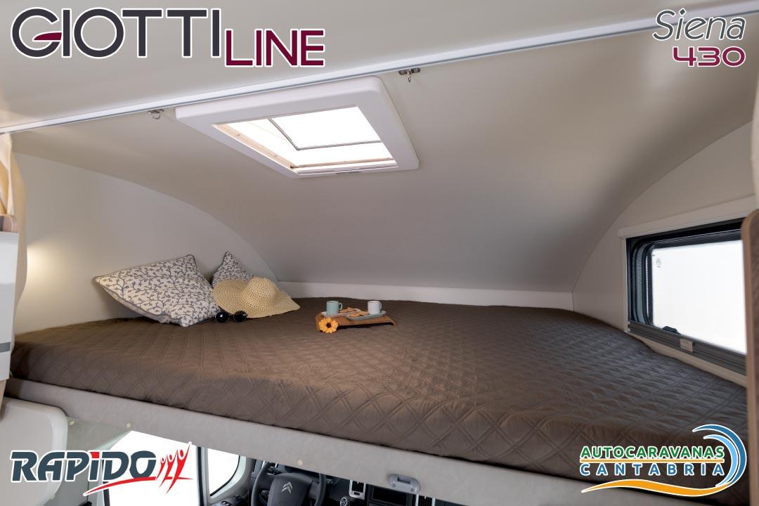 GiottiLine Siena 430 2021 cama delantera