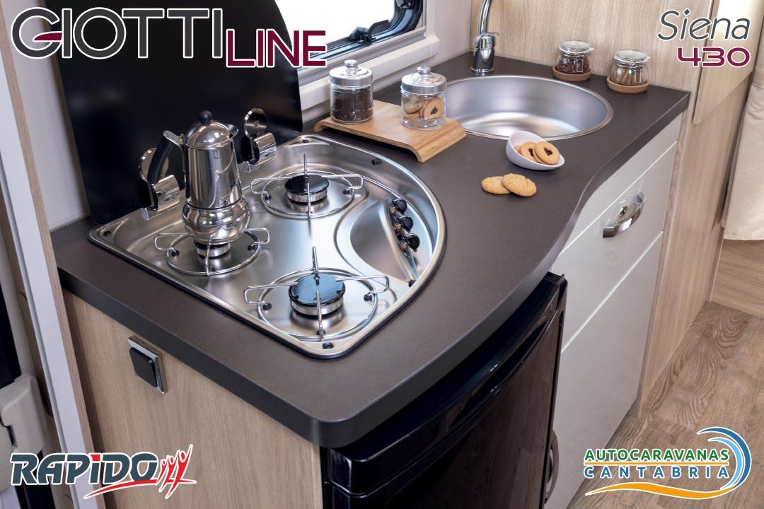 GiottiLine Siena 430 2021 cocina
