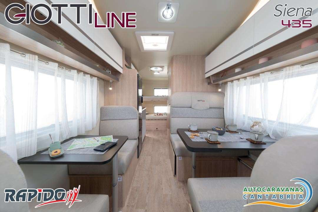 GiottiLine Siena 435 2021 interior