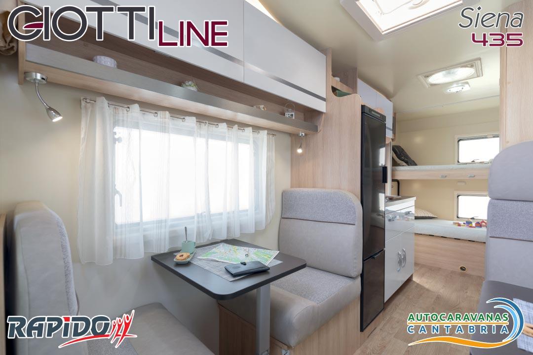 GiottiLine Siena 435 2021 comedor