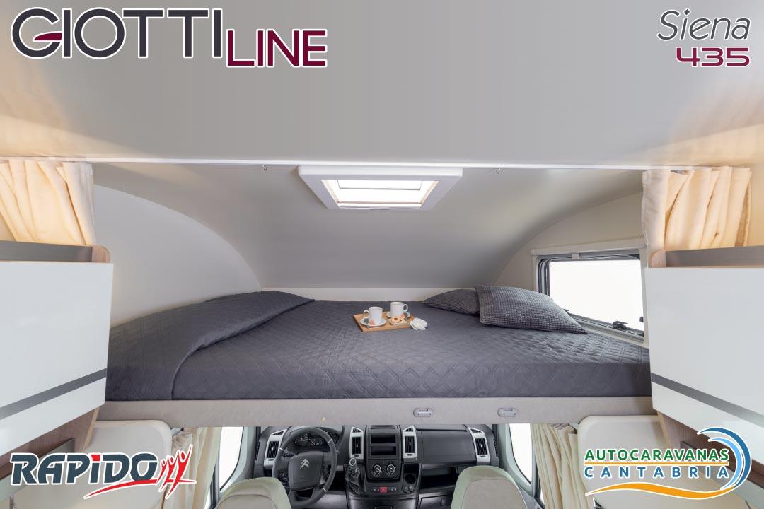 GiottiLine Siena 435 2021 cama capuchina