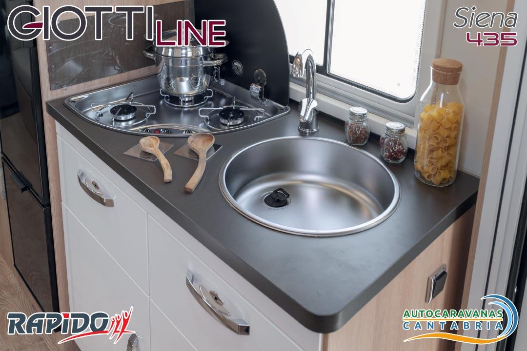 GiottiLine Siena 435 2021 cocina