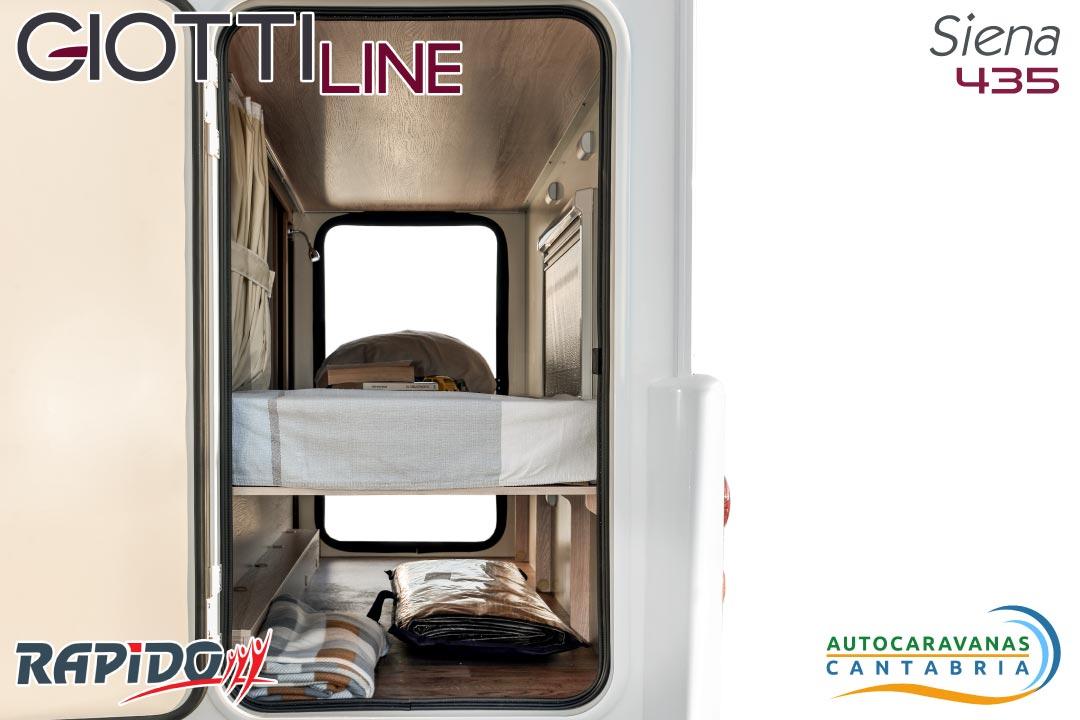 GiottiLine Siena 435 2021 garaje