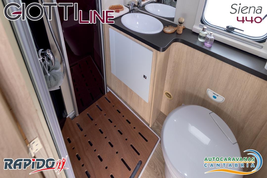 GiottiLine Siena 440 2021 baño