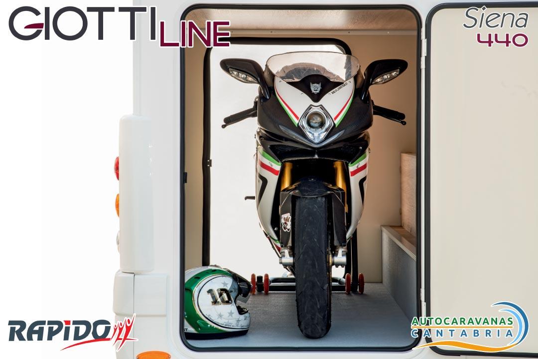 GiottiLine Siena 440 2021 garaje