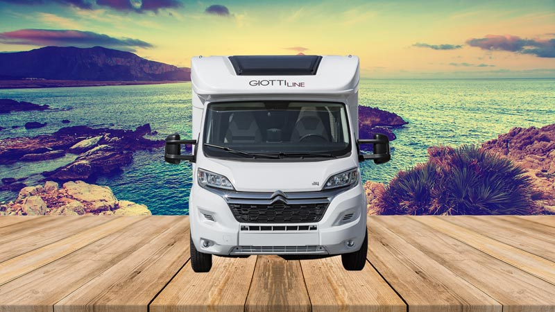 Autocaravana GiottiLine Therry T34 2021 frontal