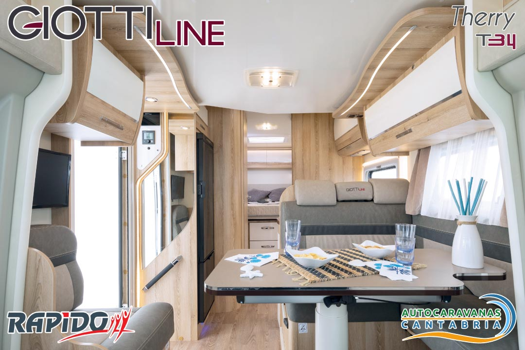 Autocaravana GiottiLine Therry T34 2021 interior