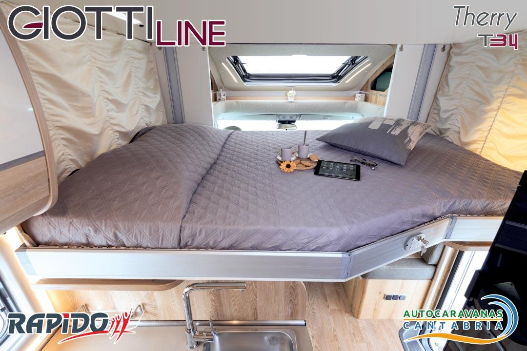 Autocaravana GiottiLine Therry T34 2021 cama basculante