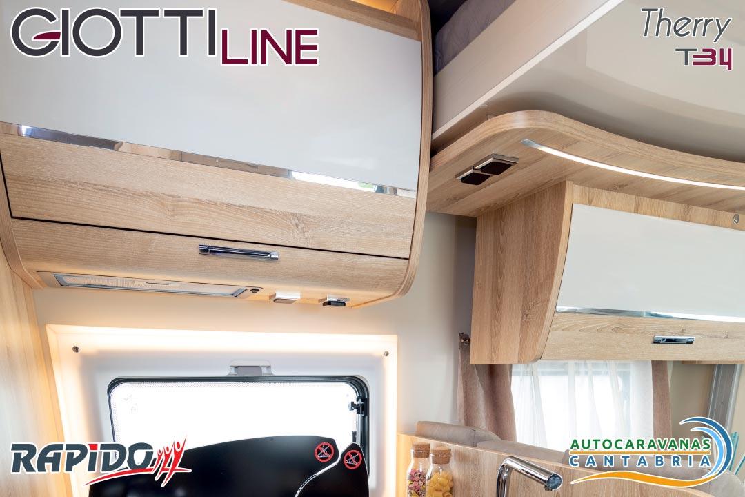 Autocaravana GiottiLine Therry T34 2021 armarios