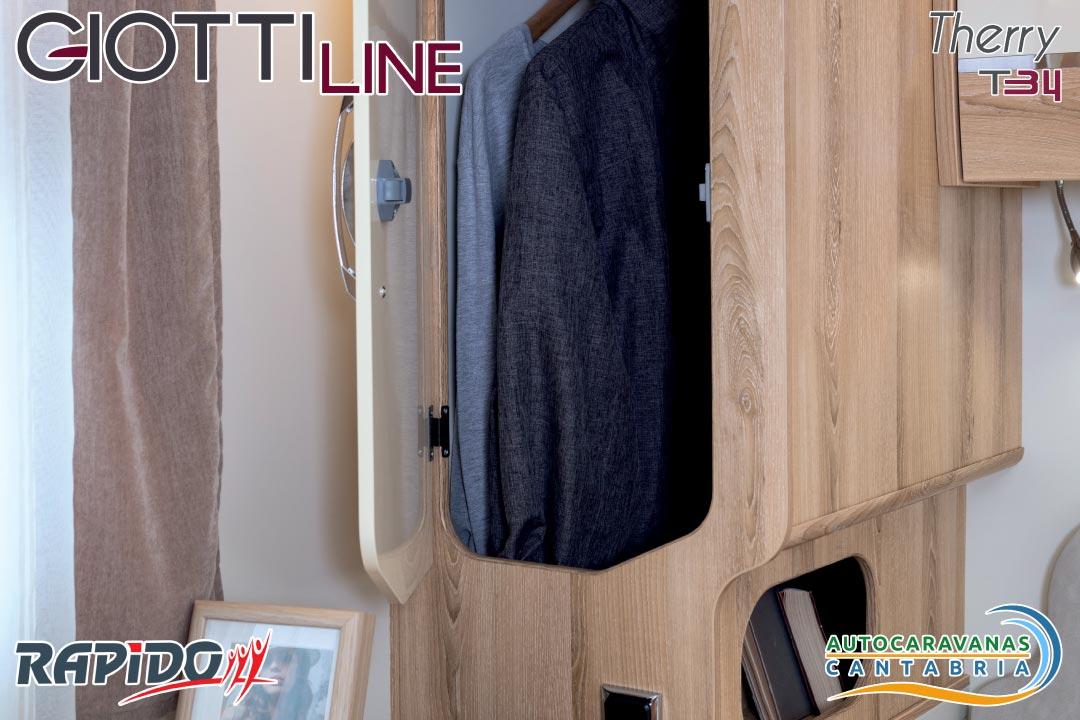 Autocaravana GiottiLine Therry T34 2021 armarios ropa