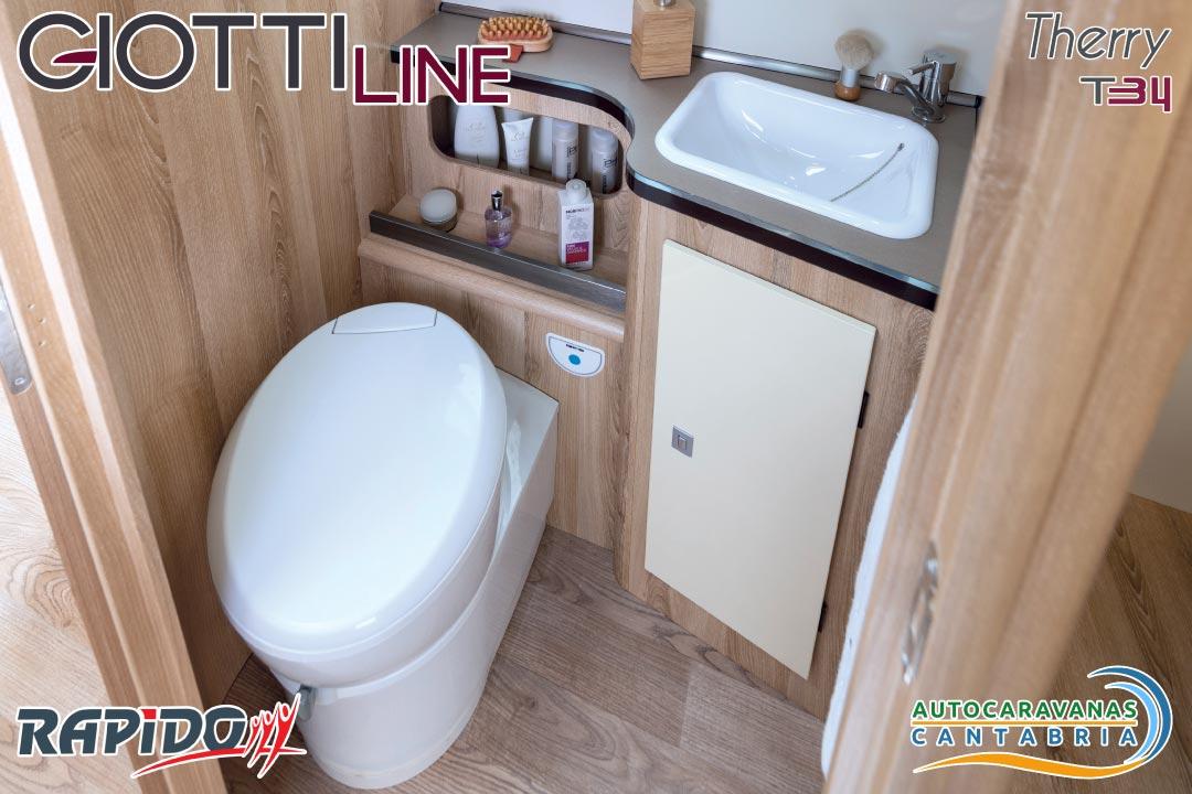 Autocaravana GiottiLine Therry T34 2021 baño